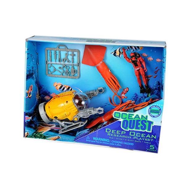 OCEAN QUEST DEEP OCEAN PLAYSET