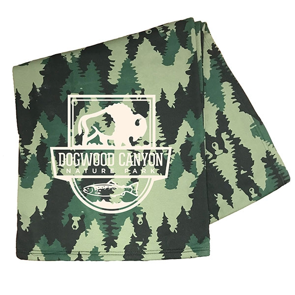 DOGWOOD CANYON FOREST BEAR THROW