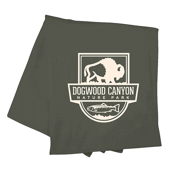 DOGWOOD CANYON OLIVE THROW